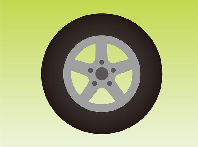 タイヤの使用年数を確認